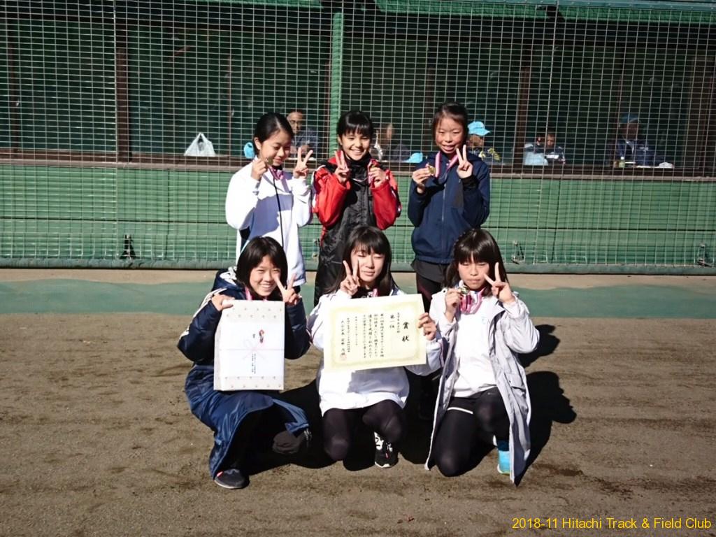 日立陸上クラブ Hitachi Track & Field Club - 2018-11-23 常陸大宮市スポ ...
